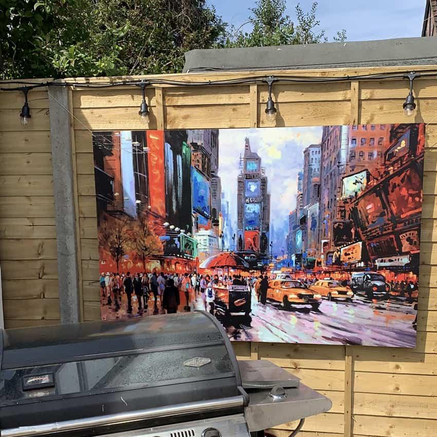 Outdoor durable art
