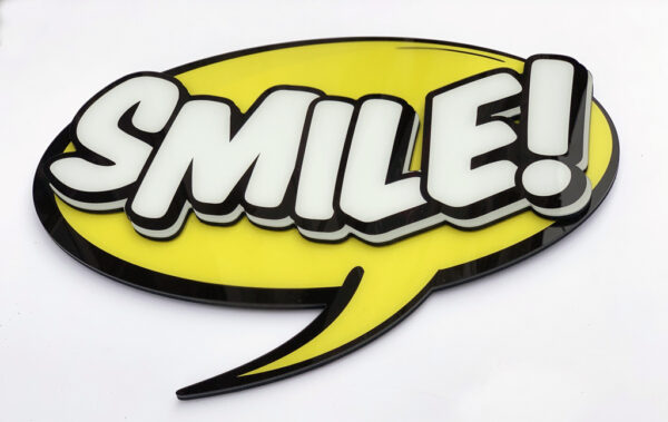 Smile cut to shape BUY NOW